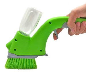 4 CB0458A Plastic-household-Spraying-green-Cleaning-glass - Copy