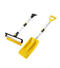 4 in 1 multiple purpose snow brush and shovel kit