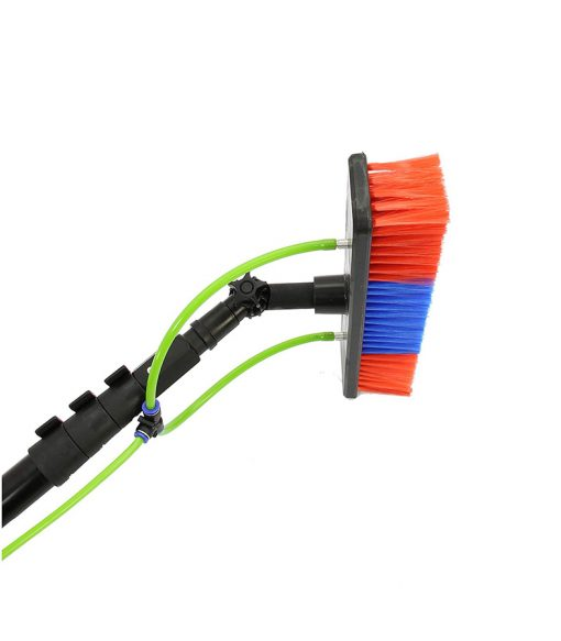 24 ft extendable roof cleaner panel wash brush