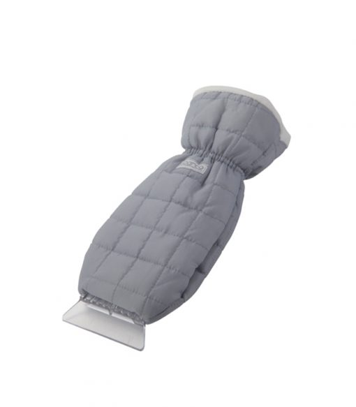 Portable Car Ice Scraper with Glove Mitt