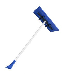 The Foam Brush for clearing snow