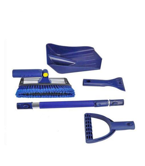 Luxury Car Winter Kit with Detachable Ice Scraper Shovel Snow Brush