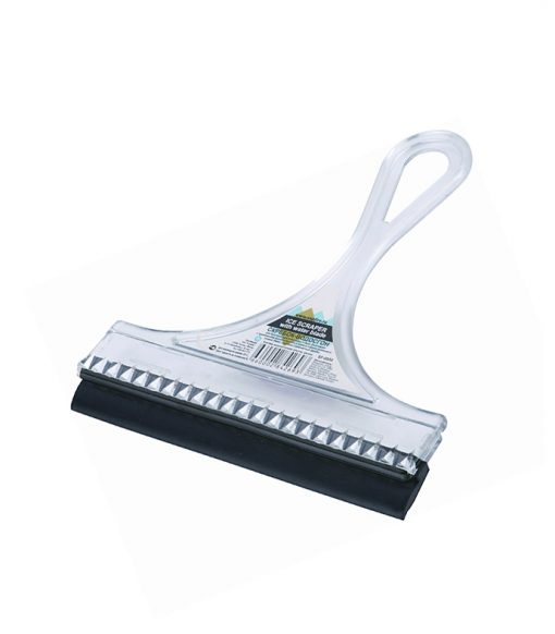 Small Car Squeegee with Rubber Blade Wiper