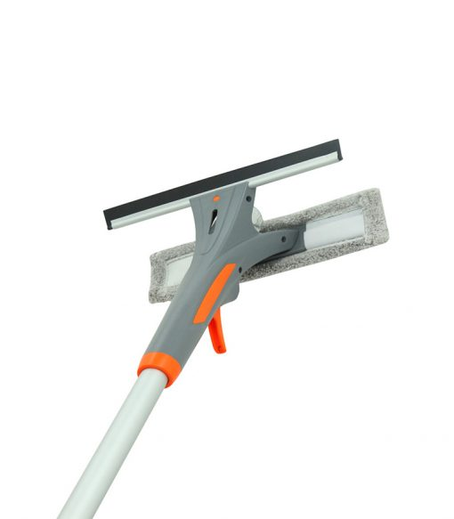 Separable Water Spray Window Squeegee Cleaner