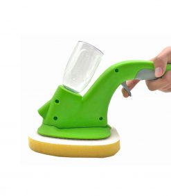 Spraying Window Cleaning Squeegee Wiper with Sponge