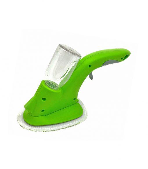 Magic Spraying Window Glass Cleaning Wiper with Microfiber Pad