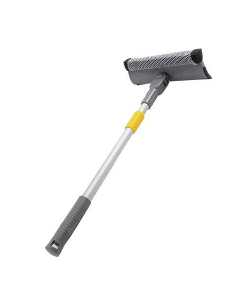 8'' Swivel Head Sponge Squeegee, with Extendable Aluminum Pole
