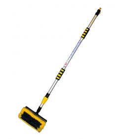water fed wash brush 2m telescopic