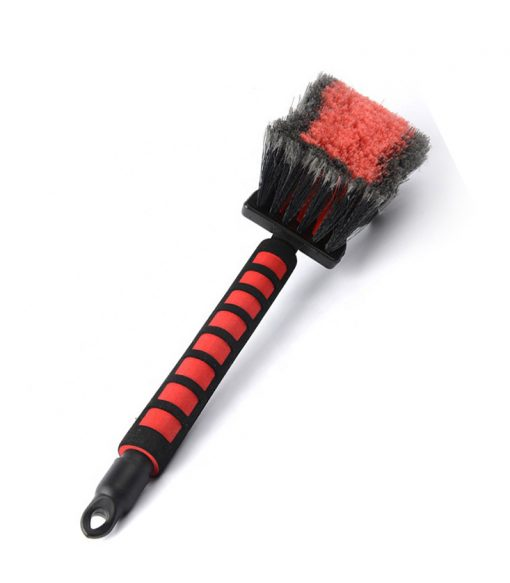 wheel brush with eva soft handle