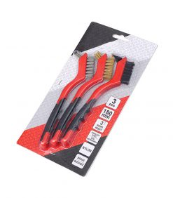 Brass and Steel Wire Brush Set 3pcs for Detailing