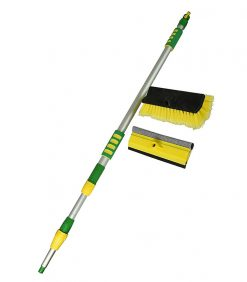 2pcs in Flow Thru Brush Set with Brush Head and 10'' Squeegee