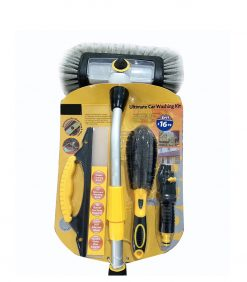 quad. brush. set with wheel brush squeegee