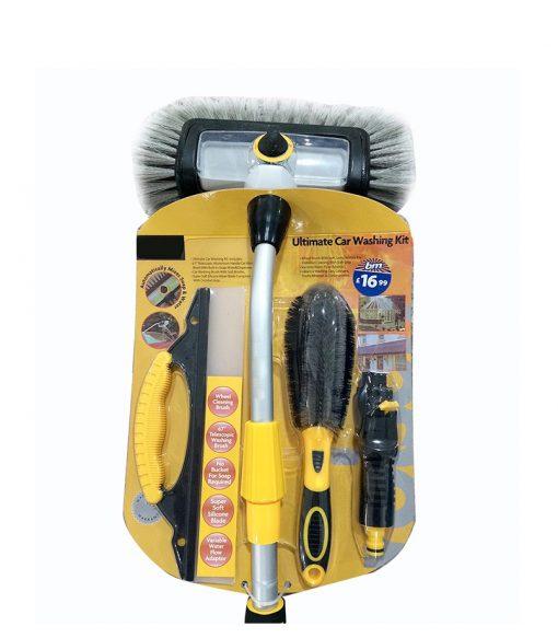 quad. brush. set with wheel brush squeegee