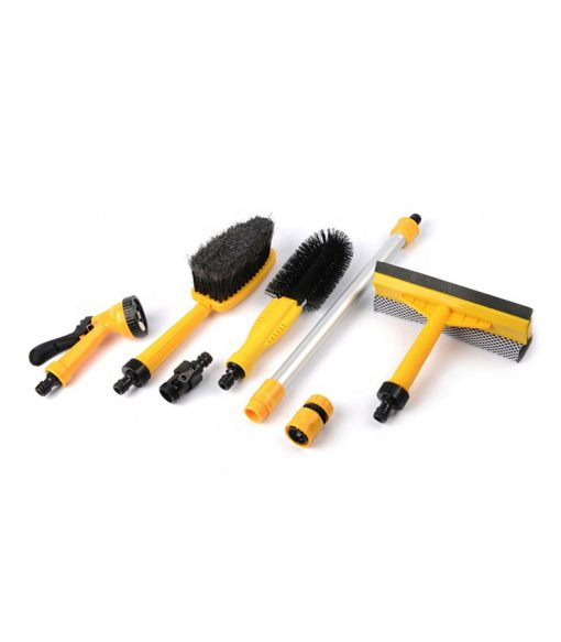 Car Exterior Clean Portable Set with Wheel Brush Spayer Squeegee