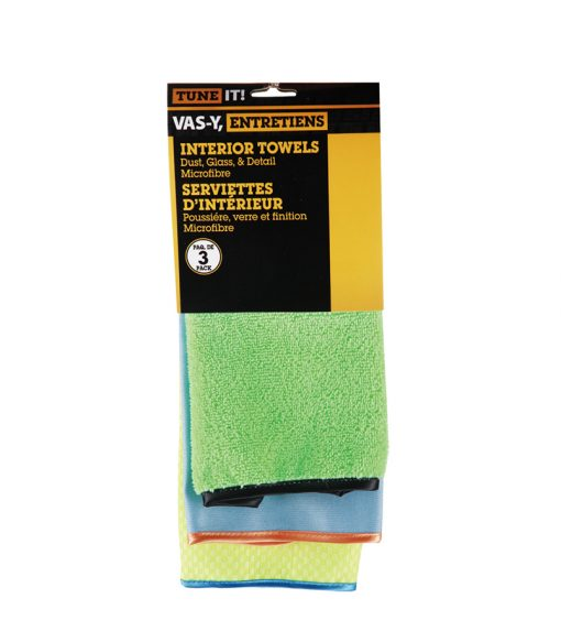 Microfiber Cloth 3 Pack