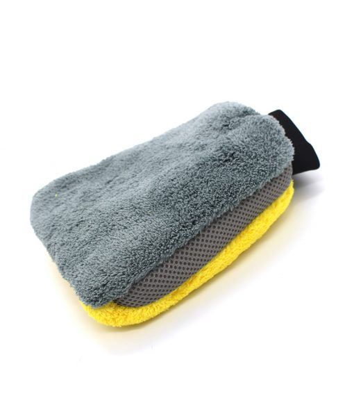 26x17cm Auto Cleaning Mitt for Car and Motorbike Washing Drying Mitt