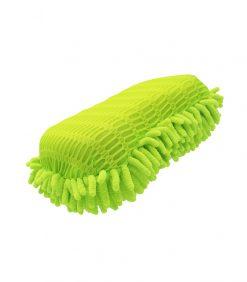 23x12x7cm Wash Scrub Sponge Premium Grade Microfiber Applicators Scratch Free