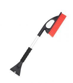 snow brush with scraper