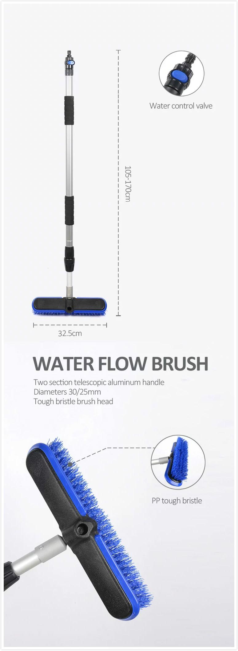 12.6'' hard bristle floor broom