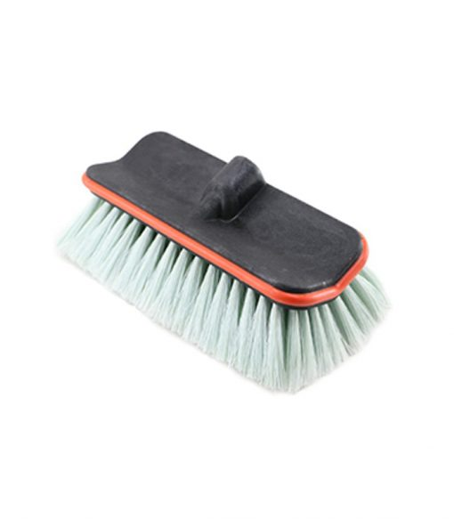 brush head with bumper protecting