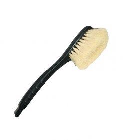 palm fiber soft bristle car brush