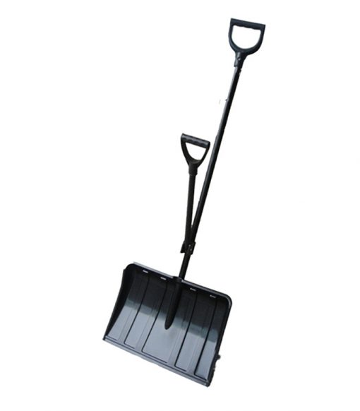 Remove and adjustment double handle economize labour ice breaker and snow shovel