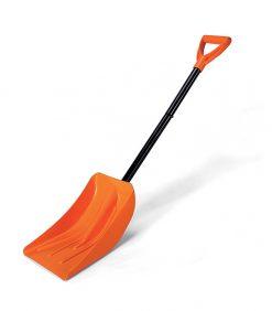 shovel with detachable metal handle