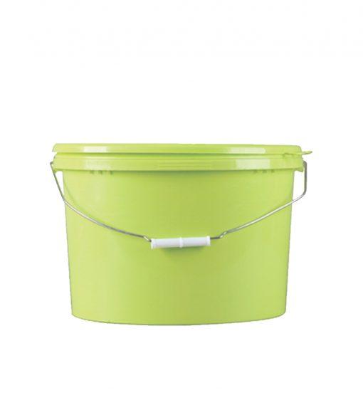 15L oval plastic bucket