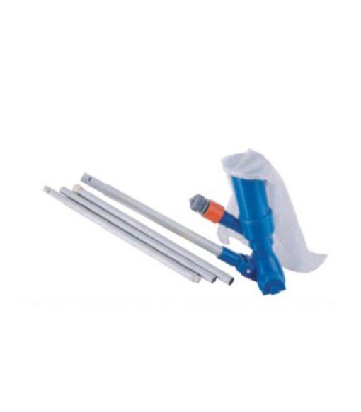Economy Jet vacuum head/3section pole. of 52'' /135cm