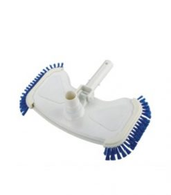 rotative vacuum head with side brush