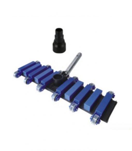 22'' deluxe flexible vacuum head with aluminium handle