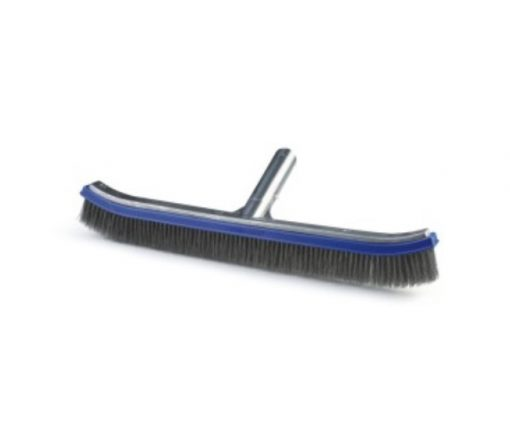 18'' 45cm stainless steel pool brush designed for cleaning walls floors pools