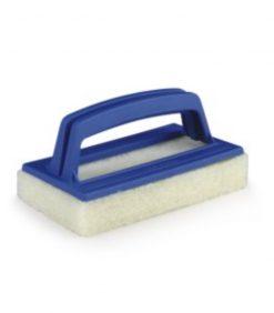 scrubber pad brush