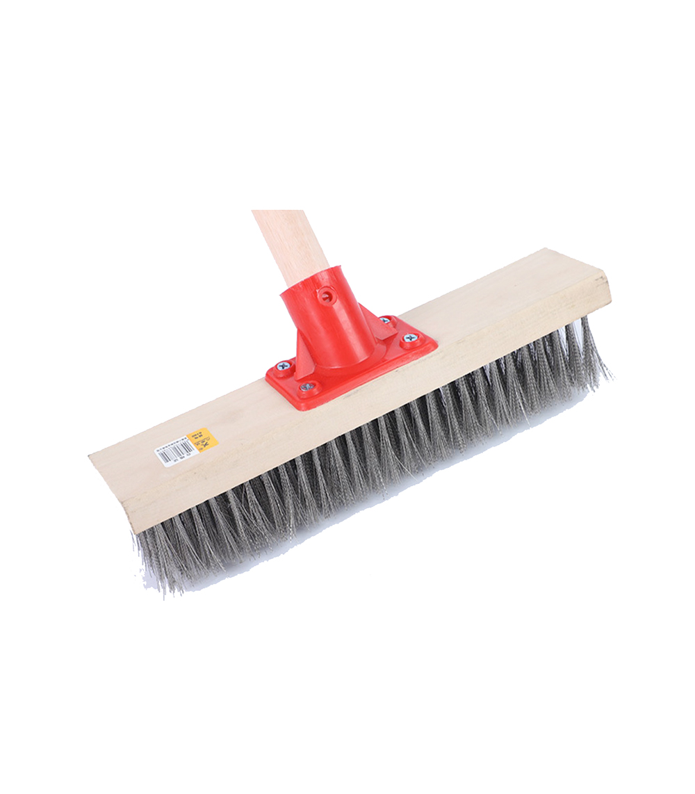 Industrial Floor Scrubbing Brush with Stainless Steel or Brass Bristle for Tough Work